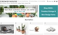 荷兰永恒复古与新设计家居用品购物网站: CROWDYHOUSE