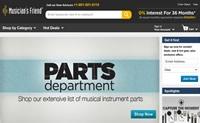 美国在线乐器和设备商店:Musician's Friend