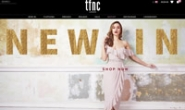 英国派对礼服和连衣裙购物网站:TFNC London