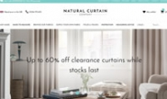 英国天然窗帘公司:The Natural Curtain Company