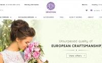 定制的欧洲婚纱礼服:Devotion Dresses