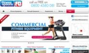 英国家庭和商业健身器材购物网站:Fitness Options
