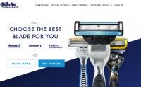 订阅或购买吉列剃须刀:Gillette on Demand
