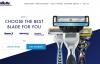 吉列剃须刀美国官网:Gillette美国