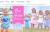 美国经典刺绣和字母儿童服装特卖:Smocked Auctions