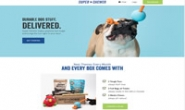 狗狗玩具、零食和咀嚼物的月度送货服务:Super Chewer