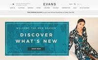 英国大码女性时装零售商:Evans