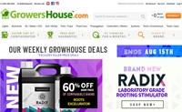 美国最大的在线水培用品商店:GrowersHouse.com