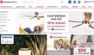 Lampenwelt德国:欧洲领先的灯具和照明在线商店