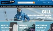水上运动奥特莱斯:Wasterports Outlet