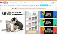 意大利宠物用品购物网站:Bauzaar