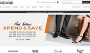 Allsole美国/加拿大:英国一家专门出售品牌鞋子的网站
