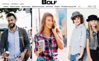 乌克兰网上服装店:Bolf.ua