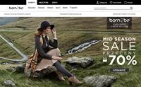 波兰服装和鞋类购物网站:Born2be