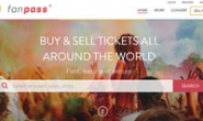 英国购买和出售门票网站:Fanpass