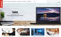 联想法国官方网站:Lenovo法国