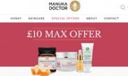 Manuka Doctor英国官网:真正的麦卢卡蜂蜜和护肤品