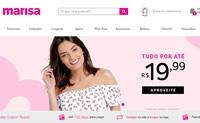 巴西服装和鞋子购物网站:Marisa