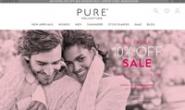 英国羊绒服装购物网站:Pure Collection