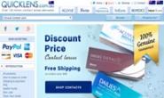 澳大利亚便宜隐形眼镜购买网站:QUICKLENS Australia