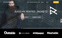 加热夹克:RAVEAN