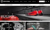 澳大利亚足球鞋和服装购物网站:Ultra Football