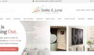 美国在线家居装饰店:Belle&June