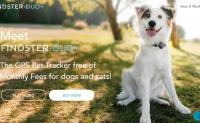 狗和猫的GPS宠物跟踪器:Findster