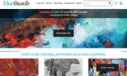 从澳大利亚最大的在线艺术画廊购买艺术品:Bluethumb