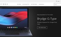 iPad和Surface Pro蓝牙键盘:Brydge