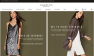 Halston Heritage官网:简洁的日装,稍显奢华的晚装