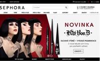SEPHORA丝芙兰捷克官网:购买香水、化妆品和护肤品