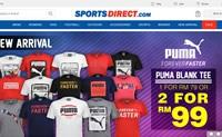 SportsDirect.com马来西亚:英国第一体育零售商