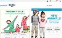Carter's OshKosh加拿大:购买婴幼儿服装和童装