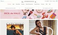 Anthropologie英国:美国家喻户晓的休闲服装和家居产品品牌