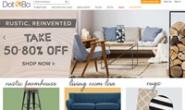 现代生活方式的家具和装饰:Dot & Bo