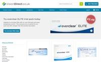 英国最受欢迎的在线隐形眼镜商店:VisionDirect.co.uk