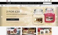 英国蜡烛、蜡烛配件和家居香氛购买网站:Yankee Candle