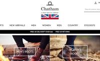 英国设计的甲板鞋和船鞋:Chatham