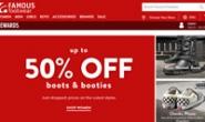 Famous Footwear加拿大:美国多品牌运动休闲鞋店