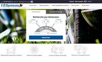 法国在线购买汽车轮胎网站:123pneus.fr