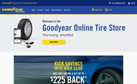固特异美国在线轮胎店:Goodyear Tire