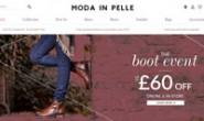 英国女鞋购物网站:Moda in Pelle