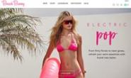 Beach Bunny Swimwear官网:设计师泳装和性感比基尼