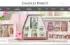 英国最大的在线蜡烛商店:Candles Direct