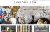 艺术家策划的室内设计:Curious Egg