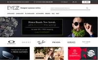 美国正宗设计师眼镜在线零售商:EYEZZ
