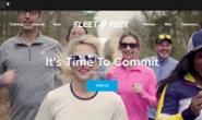 与世界上最好的跑步专业品牌合作:Fleet Feet