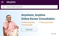 在印度上传处方,在线订购药品:Medlife