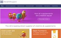 英国领先的维生素和营养补充剂直接供应商:Healthspan
